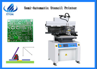 Stable Performance PCB Silk Screen Printer Max Printing Size 400*600mm